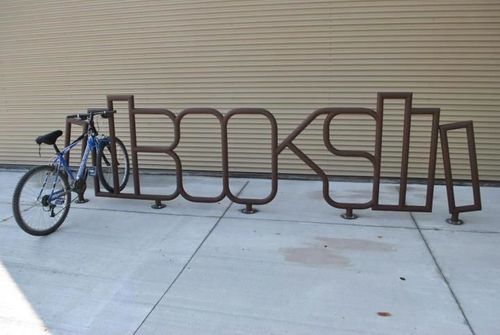 Sudbury Library bike rack
