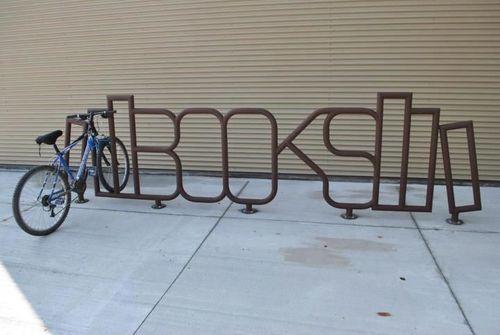Sudbury Library bike rack
