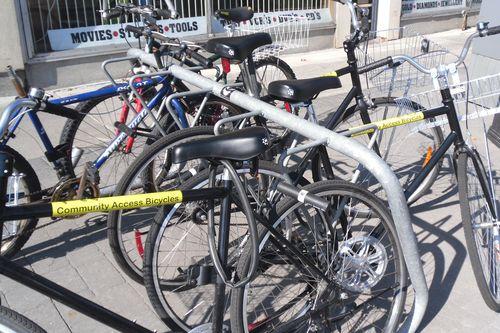 Pile 'o bikes