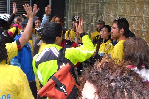 Volunteers rallied