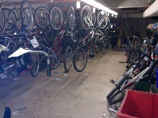 Bikes to hang